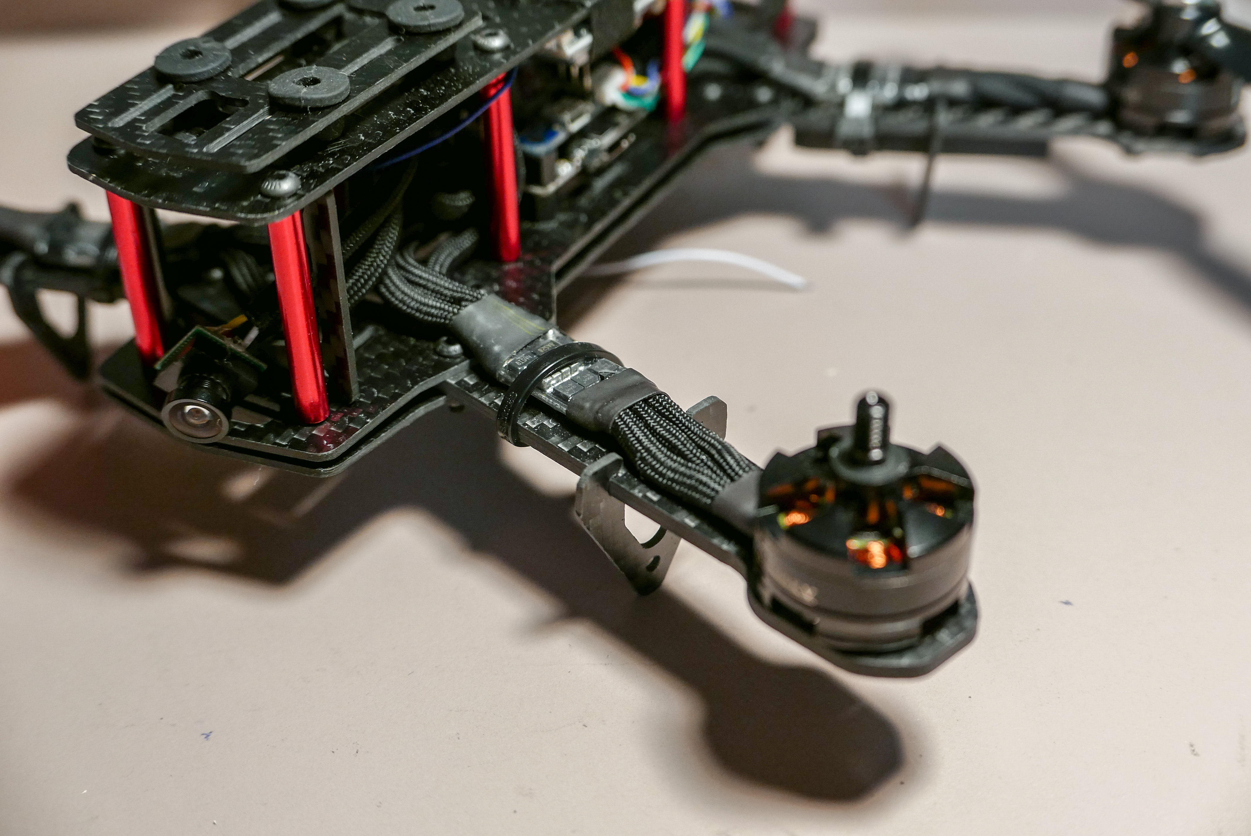 How To Sleeve Cables and Manage Wires on a Quadcopter – PCB Isolation