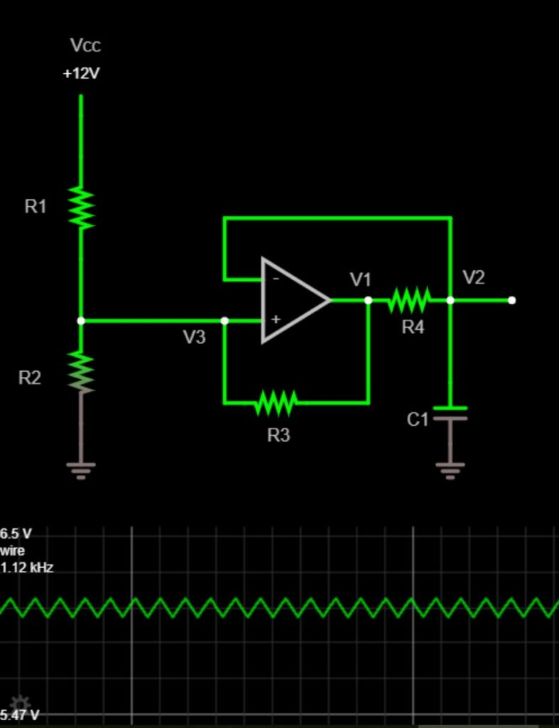 Designing A Single Op Amp Triangle Wave Generator Pcb