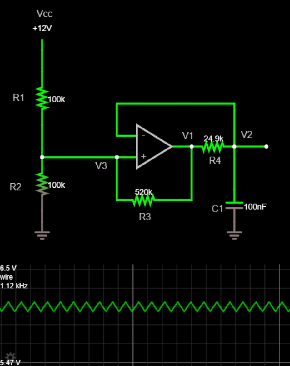 Circuit Diagram Signal Processing Oscillator Circuit The Sawtooth