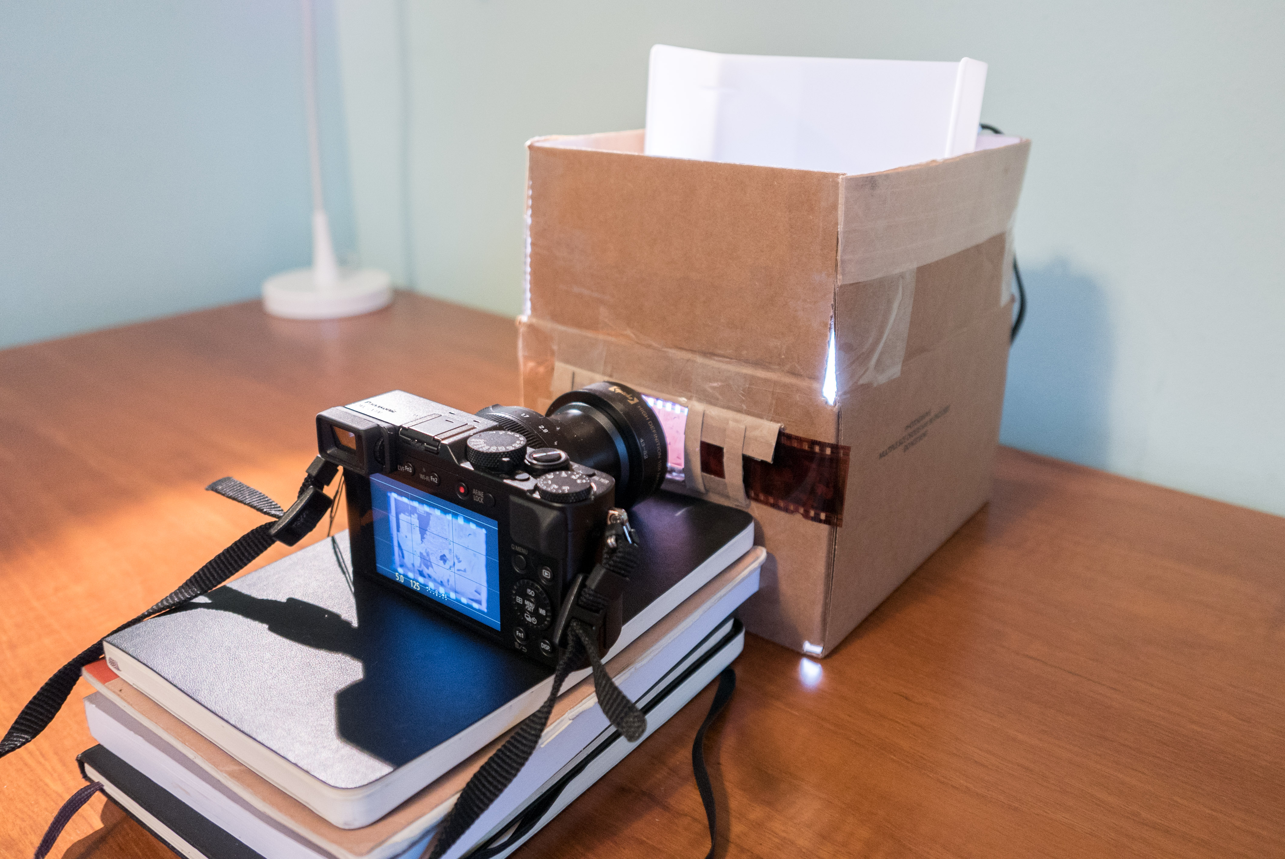 how to scan a lot of film negatives using your camera pcb isolation