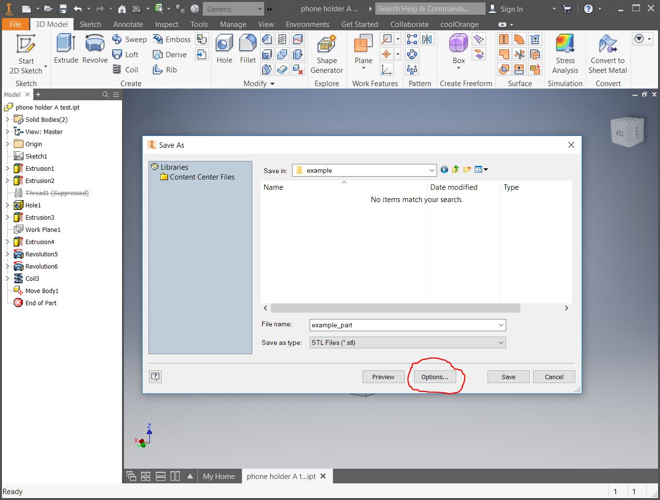 How to Export STL File from Inventor to Cura for 3D Printing – PCB
